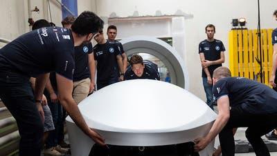 ETH-Studenten nehmen zum zweiten Mal an Hyperloop-Wettbewerb von Elon Musk teil
