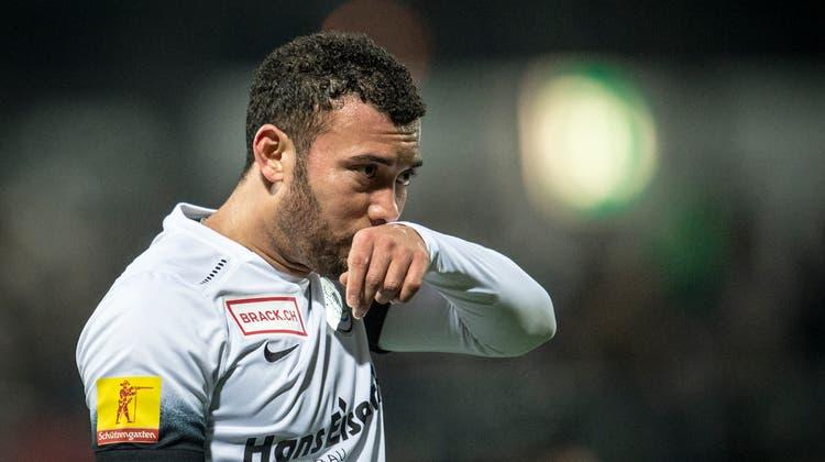 Aus und vorbei: Johan Vonlanthen wird nicht mehr im Trikot des FC Wil auflaufen. (Benjamin Manser)