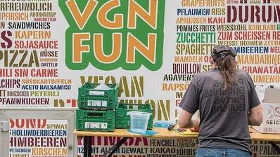 Veganes Nachhaltigkeitsfestival in Gossau will Resten vermeiden