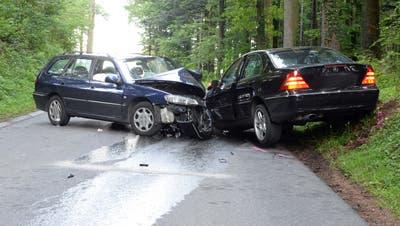 Die Unfallstelle in Schongau. (Bild: Luzerner Polizei)