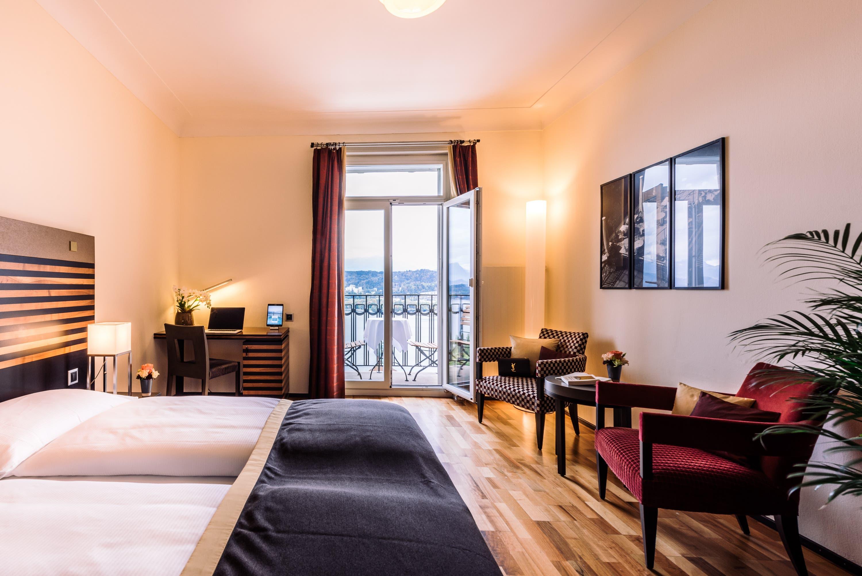 Zimmer im Art Deco Stil. Das Hotel hat 62 individuell eingerichtete Zimmer.       Bild: PD