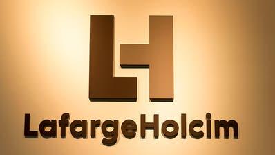 Der Zementkonzern LafargeHolcim streicht die Standorte in Zürich und Paris. (Bild: Patrick B. Kraemer/Keystone)