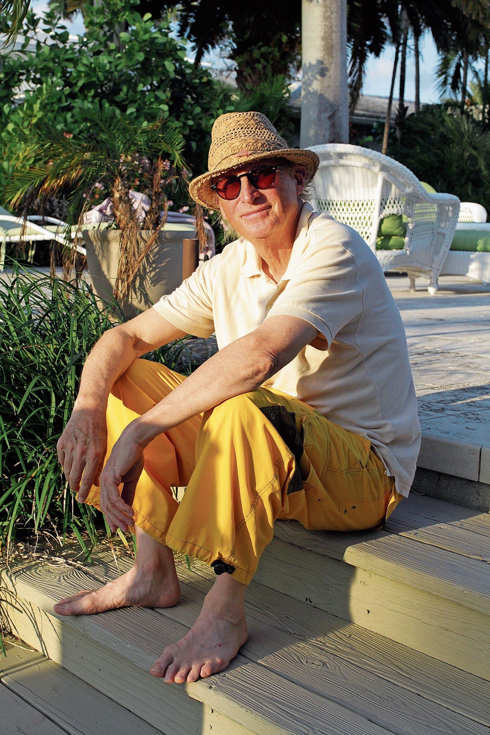 «Sobald ich irgendwo ein Wehwehchen habe, denke ich: Jetzt ist es so weit, jetzt heisst es Abschied nehmen»: Otto Waalkes in Florida, wo er jeweils die Wintermonate verbringt. (Bild: Daniela Grundwald (Fort Lauderdale, Frühling 2018))
