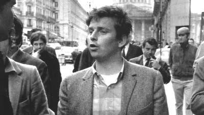 Daniel Cohn-Bendit im Mai 1968 in Paris. (Michel Laurent/AP)