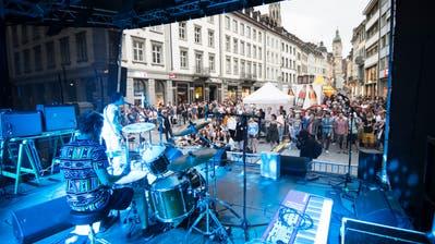 Elio Ricca feiert dieses Jahr ein Comeback auf der «Musig uf de Gass»-Bühne. (Bild: Peer Füglistaller - 6. Juni 2015)