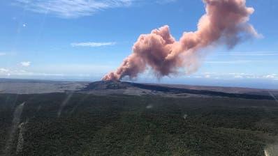 Vulkanausbruch auf Hawaii bedroht Wohngebiet