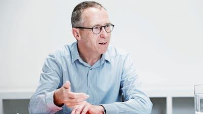 Peter Hebeisen (60), Präsident des Vorstandes der Gemeinnützigen Gesellschaft Zug (GGZ). (Bild: Stefan Kaiser)