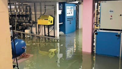 Nach Sintflut: Frauenfelder Badi bleibt zu