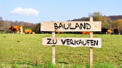 Bauland zu verkaufen. (Bild:Fotolia)