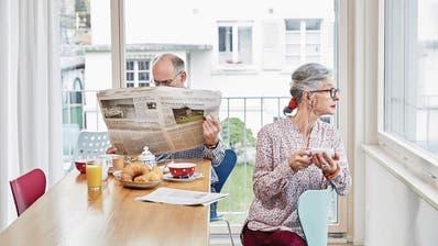Illustration zum Thema Pensionskasse.  (Bild: Manuela Jans)