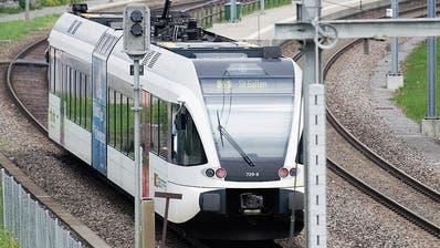 Der St. Galler Stadtrat fordert einen Ausbau der S-Bahn