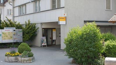 Noch bis Ende Oktober betreibt die Post eine eigene Filiale an der Neudorfstrasse in Kirchberg. (Bild: Claudio Weder)