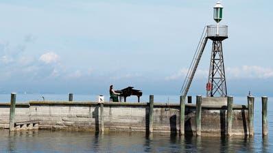 Rorschach will mit Openair-Pianos die Stadt beleben
