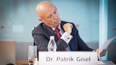 Unter Druck: Raiffeisen-CEO Patrik Gisel. (Bild: Ralph Ribi, St.Gallen, 2. März 2018)