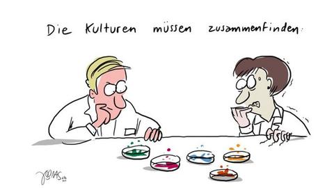 Frage aus dem Bereich Mathematik. (Quelle: Kantonsschule Trogen)