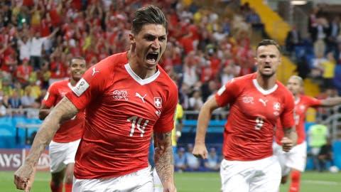 Gelungener WM-Auftakt für die Schweizer Nationalmannschaft: Die Schweiz und Brasilien trennen sich 1:1.