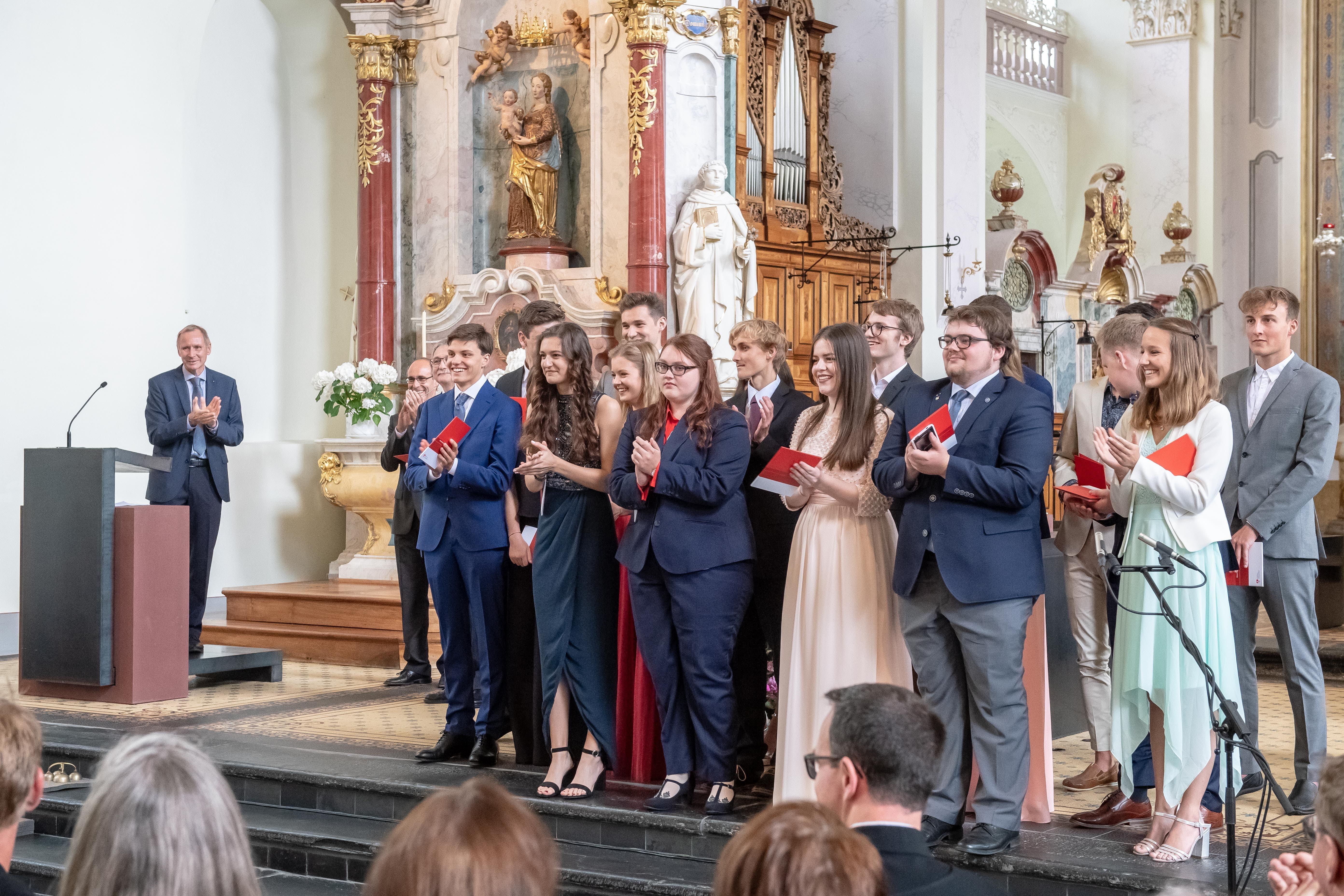 Applaus für die Schüler (Bild: Izedin Arnautovic, 15. Juni 2018)