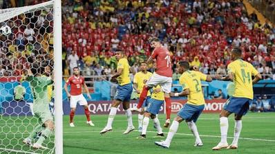 1:1 gegen Brasilien: Schweiz setzt ein erstes Ausrufezeichen