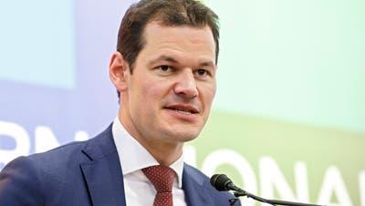 Pierre Maudet, Sicherheitsdirektor Kanton Genf. Bild: KEY