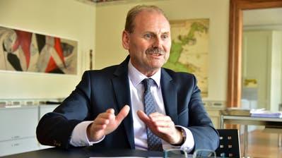 Der Weinfelder Gemeindepräsident Max Vögeli will seine fünfte Amtsperiode in Angriff nehmen. (Bild: Mario Testa)