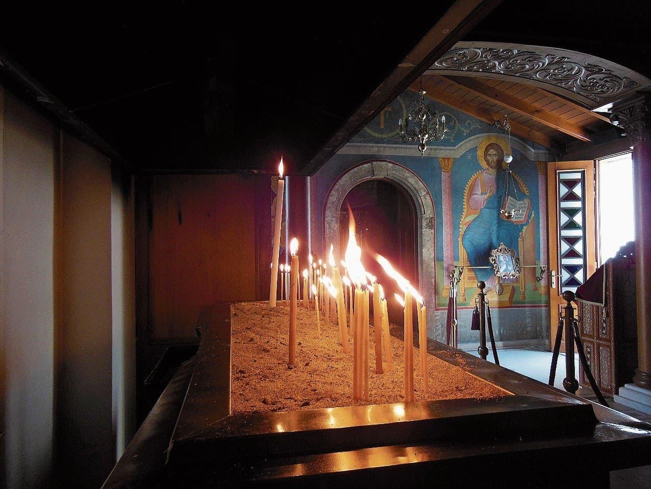 Ein Besuch des Mönchsklosters Faneromeni auf Lefkas lohnt sich.