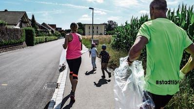 Frauenfelder Läufer machen Aufräumen zum Ausdauersport