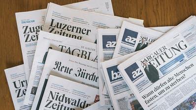 Weko schaut bei Joint Venture von NZZ und AZ Medien genau hin