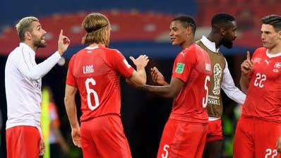 Schweiz nach 2:2 gegen Costa Rica weiter - nächster Gegner Schweden
