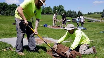 Archäologen graben Stätte von Woodstock-Festival in USA aus