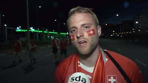 Nati-Fans im Video: «Gegen Schweden müssen wir ein Briquet mehr drauflegen»