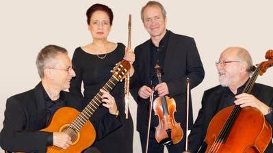 Werner und Reinhilde Klinghoff, Erich Meile und Johannes Toppius spielen am Sonntag in Oberkirch. (Bild: PD)