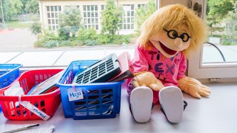 Alltag im Schulzimmer: Jedes Kind erhält die nötige Unterstützung - auch von Heilpädagogen. (Symbolbild: Keystone/Dominic Steinmann)