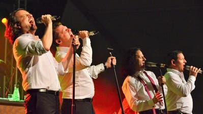 Die Show von I Quattro begeisterte das Publikum. Bild: Max Eichenberger