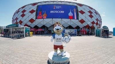 So erleben Moskauer die Fussball-WM