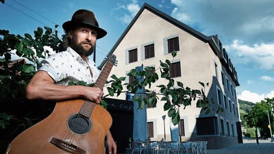 Der Sänger Shem Thomas wird am 15. Juni auf dem Walchwiler Dorfplatz auftreten. (Bild: Stefan Kaiser, 2. Juni 2018)