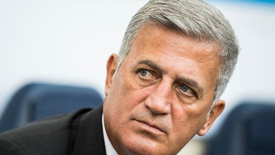 """Für Nationalcoach Vladimir Petkovic ist das Glas """"halb voll"""""""