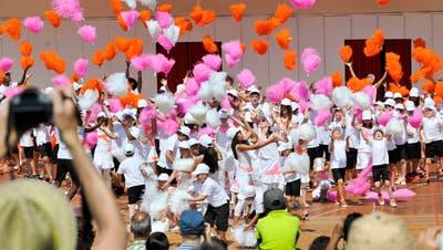Ein grosser Teil des Kinderfestes findet auf derLindenwieseam Rosenberg statt. (Bild: Tagblatt)
