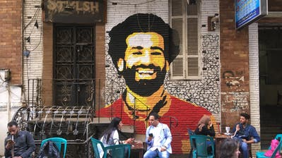 Mohamed Salah ist in Ägyptens Hoffnung. (Bild: Amir Makar/AFP Photo (Kairo, 4. April 2018))