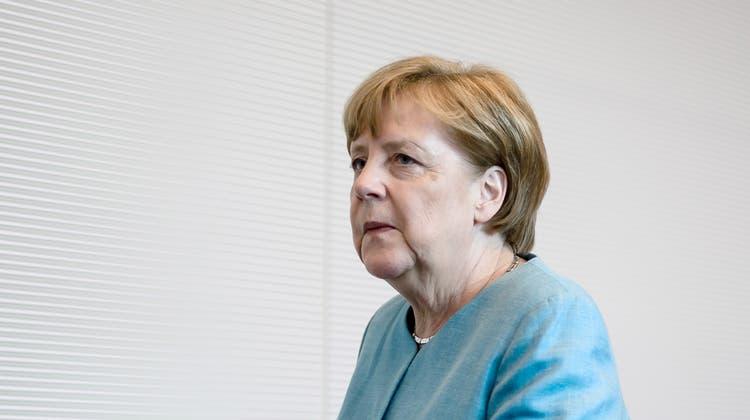 Die deutsche Bundeskanzlerin Angela Merkel muss sich am Mittwoch im Bundestag kritische Fragen zu ihrer Migrationspolitik gefallen lassen.  EPA/CLEMENS BILAN (Berlin, 5. Juni 2018)