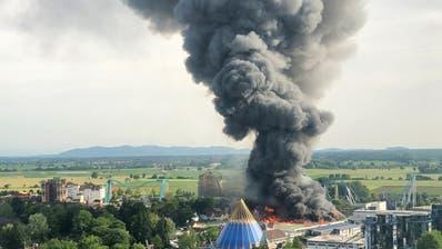 Europapark-Feuer wahrscheinlich durch technischen Defekt ausgelöst