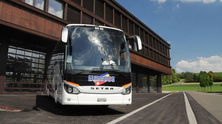 Ab 10. Juni betreibt Eurobus in der Schweiz ein Netz mit drei Fernlinien. (Bild: PD)