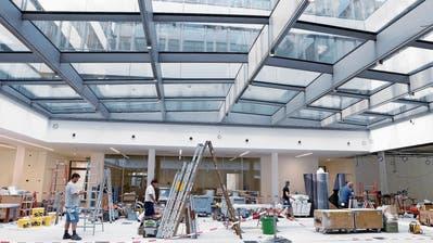 Siemens-Campus erwacht zum Leben
