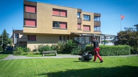 Das Andreaszentrum im Ortskern von Gossau soll dereinst einem fünfgeschössigen Pflegeheim weichen.