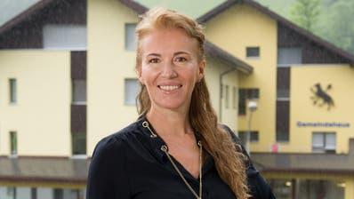 Darja Christen verlässt den Gemeinderat. (Bild: Corinne Glanzmann, Wolfenschiessen, 31. Mai 2016).
