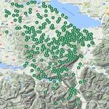 Sommerzeit ist Wanderzeit in der Ostschweiz: Alle Tagblatt-Wandertipps in einer Karte