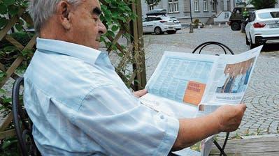 Serie Zeitungsjubiläum: Was langjährige Leser von uns halten