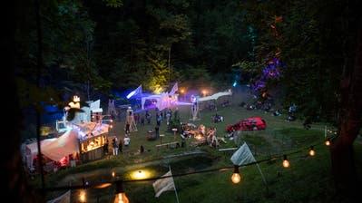 Das Open-Air «Festival am Bach» findet heuer zum dritten Mal statt. (Bild: Roger Grütter (13. Juli 2018))