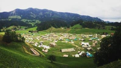 Aus dem Kantonslager der Pfadi Luzern: «Endlich ist das Abenteuer ‹LUpiter18›gestartet»