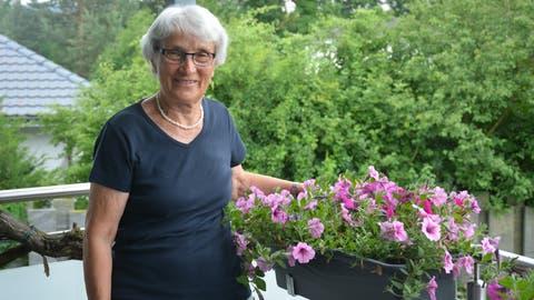 Vreni von Arburg hat Augenprobleme. Schweren Herzens gibt sie deshalb die Seniorentanzgruppe in Bürglen auf. (Bild: Monika Wick)
