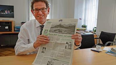 Zeitungsjubiläums-Serie: Vom Redaktionspult in die Thurgauer Regierung